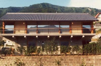 湯河原の家 (南側外観)