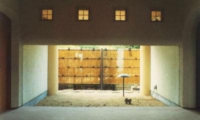 湯河原の家 (中庭)