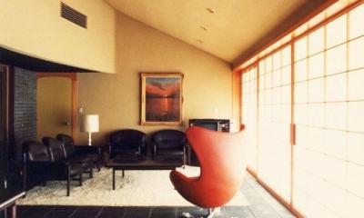 湯河原の家 (居間 1)