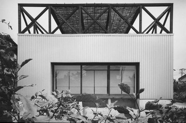 波田町の家 (南側外観)