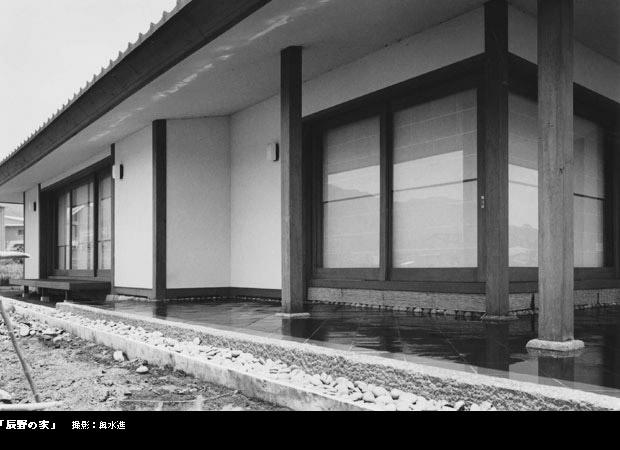 辰野の家の部屋 外観
