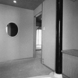 辰野の家 (玄関)