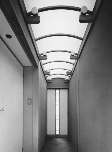 辰野の家の部屋 渡り廊下