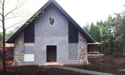 霧島の家 (正面外観)