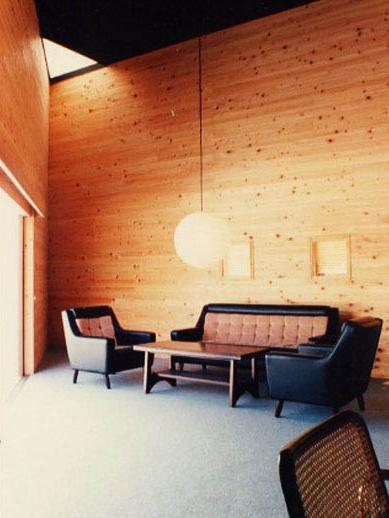 建築家:小林英治建築研究所「銀の山荘」