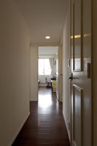 お気に入りの落ち着いた大人インテリアの部屋 廊下