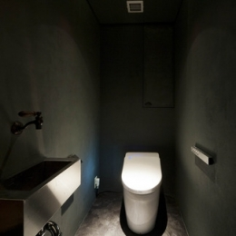 お気に入りの落ち着いた大人インテリア (トイレ)