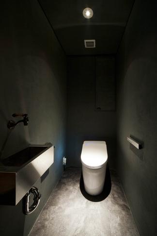 お気に入りの落ち着いた大人インテリアの部屋 トイレ