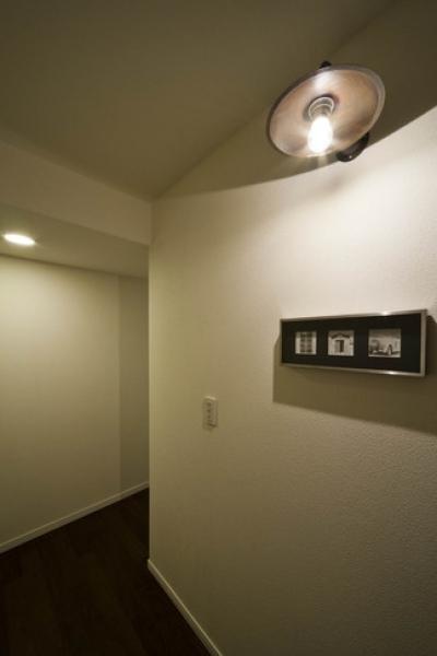 玄関1 (お気に入りの落ち着いた大人インテリア)
