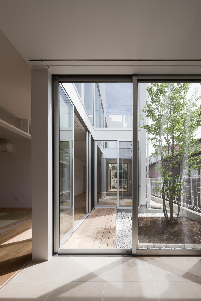 小田原コートヤードハウスの写真 中庭