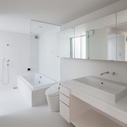 小田原コートヤードハウス (バスルーム)
