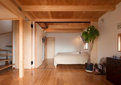 ベッドルーム2 (I邸)