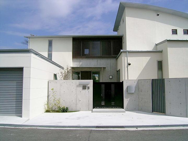 登美ケ丘の家 (外観)