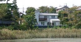 登美ケ丘の家 (外観(遠方より))