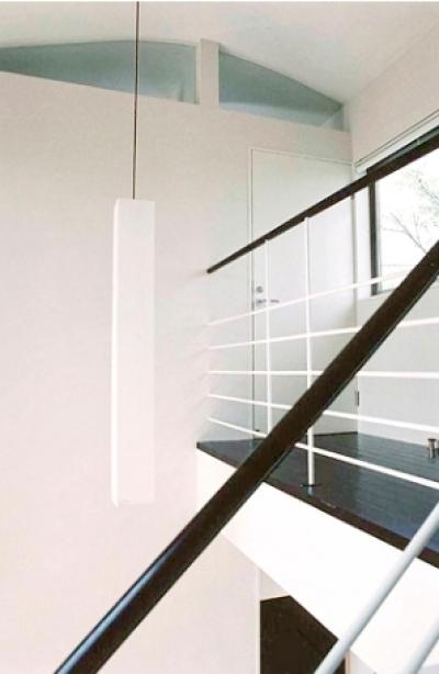 登美ケ丘の家 (階段上)