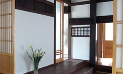 押熊の家 (玄関)