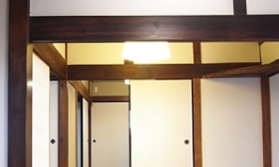 居間|押熊の家