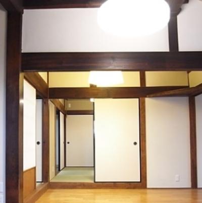 居間 (押熊の家)