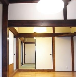 押熊の家の部屋 居間