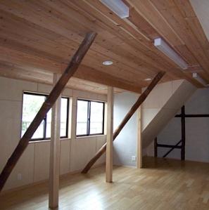 押熊の家の部屋 多機能スペース