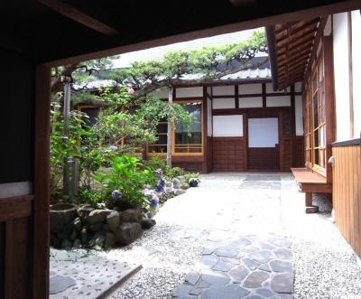 庭 (押熊の家)