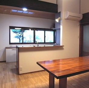 山添の家の部屋 キッチン