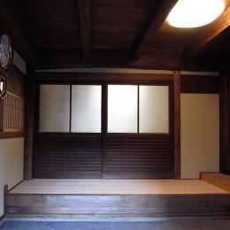 山添の家 (玄関)