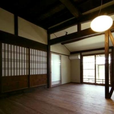 北田原の家 (リビング)