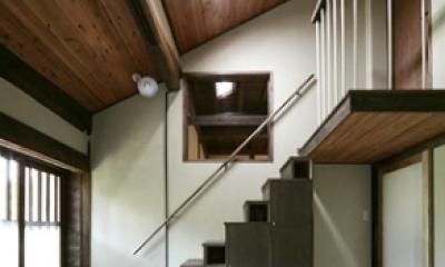 北田原の家 (階段(全体))