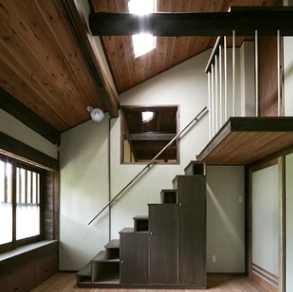 北田原の家の写真 階段(全体)