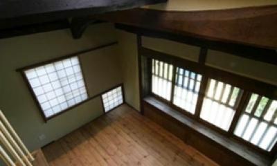 北田原の家 (階段(上部))