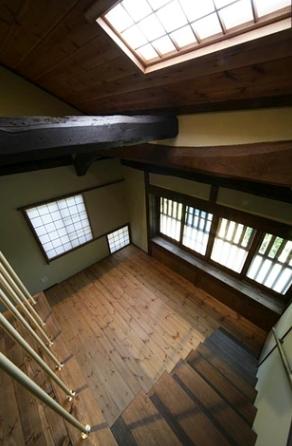 北田原の家の写真 階段(上部)