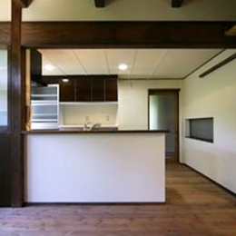 キッチン (北田原の家)