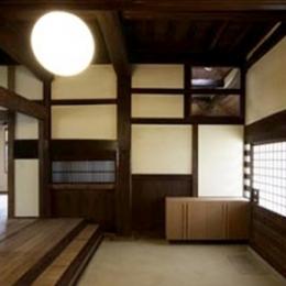 北田原の家 (玄関)