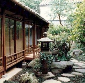 奈良町W邸の部屋 庭