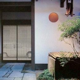 奈良町W邸 (玄関)