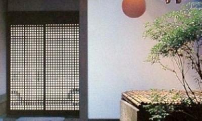 玄関|奈良町W邸