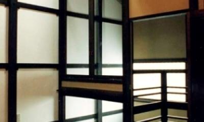 奈良町W邸 (階段上)