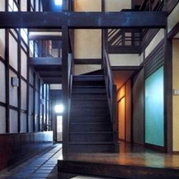 奈良町W邸 (階段)