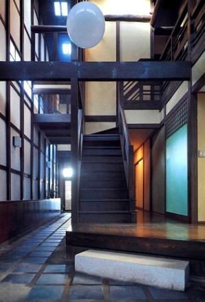 奈良町W邸の部屋 階段