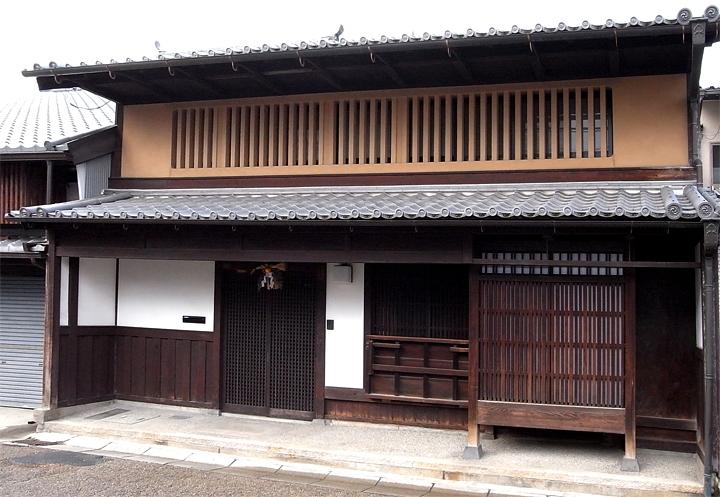 外観 (奈良町W邸)