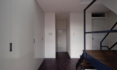 WA邸 (玄関2)