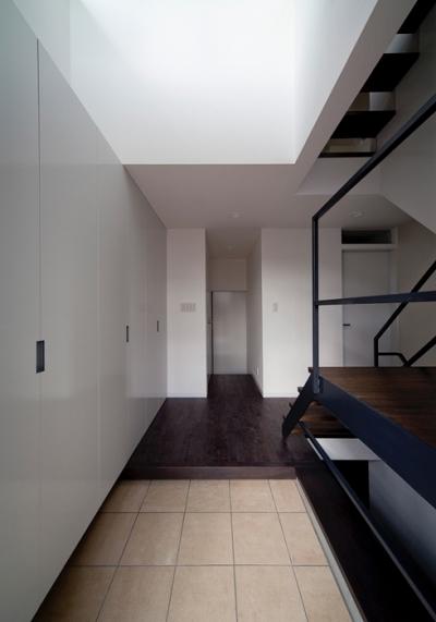 玄関2 (WA邸)