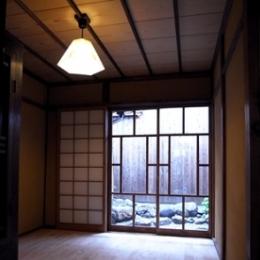 居間 (奈良町O邸(登録文化財))