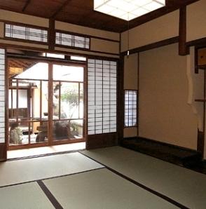 奈良町O邸(登録文化財)の部屋 居間