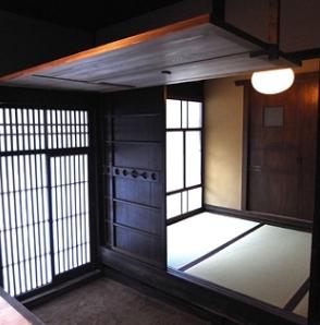 奈良町O邸(登録文化財)の部屋 寝室