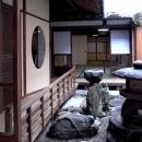 奈良町O邸(登録文化財)の写真 中庭