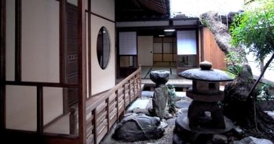 中庭 (奈良町O邸(登録文化財))