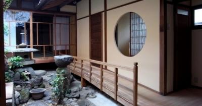 廊下 (奈良町O邸(登録文化財))