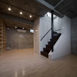 WA邸 (半地下収納部屋)